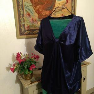 Size medium blue blouse